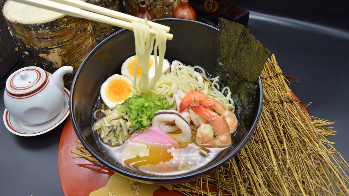 Check out Midas Hotel and Casino's Ramen Bowls