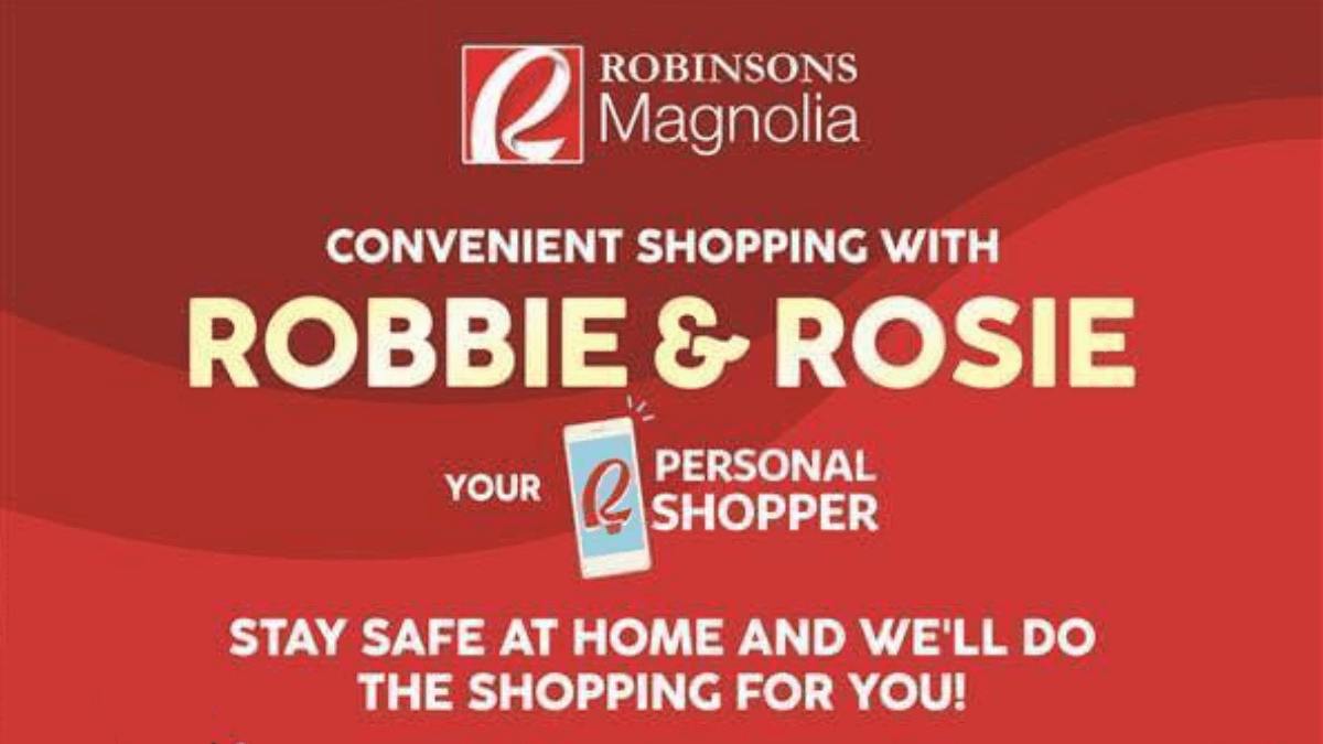 Shopping at Robinsons Magnolia Made Easier with Robbie & Rosie