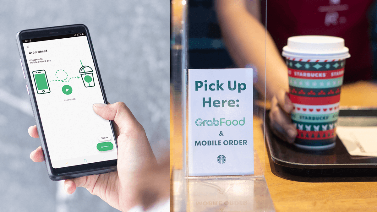 You Can Now Order Your Favorite Starbucks Drink Through the Starbucks PH App