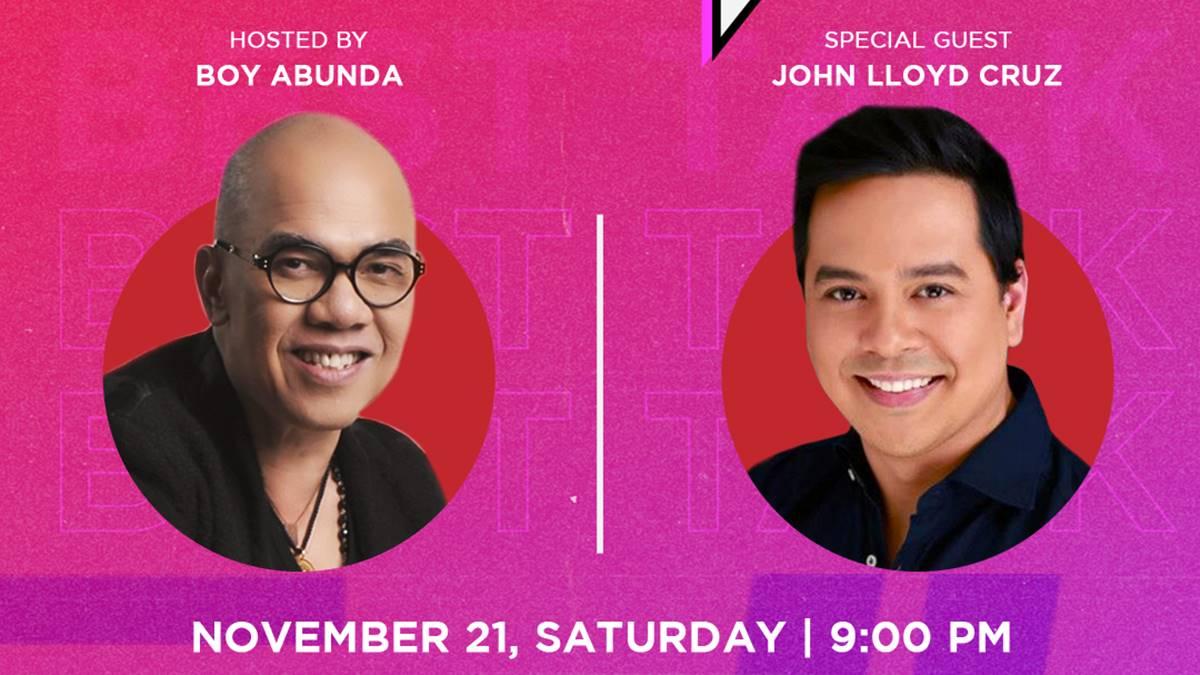 """John Lloyd Cruz will guest in Tito Boy's """"Best Talk"""""""