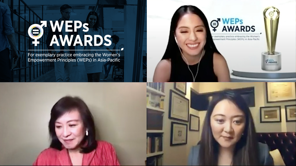 Filipina Business Leaders Win for Gender Equality in the Workplace at the UN WEP Awards