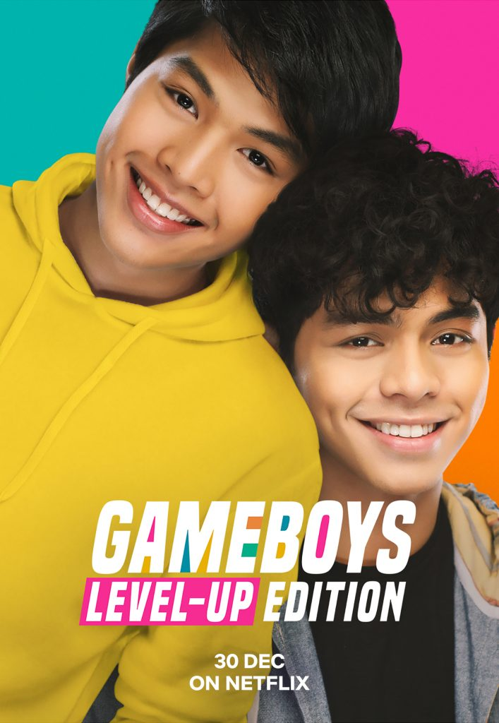 Netflix is releasing the popular Filipino BL web-series Gameboys globally as 'Gameboys Level-Up Edition' on December 30!