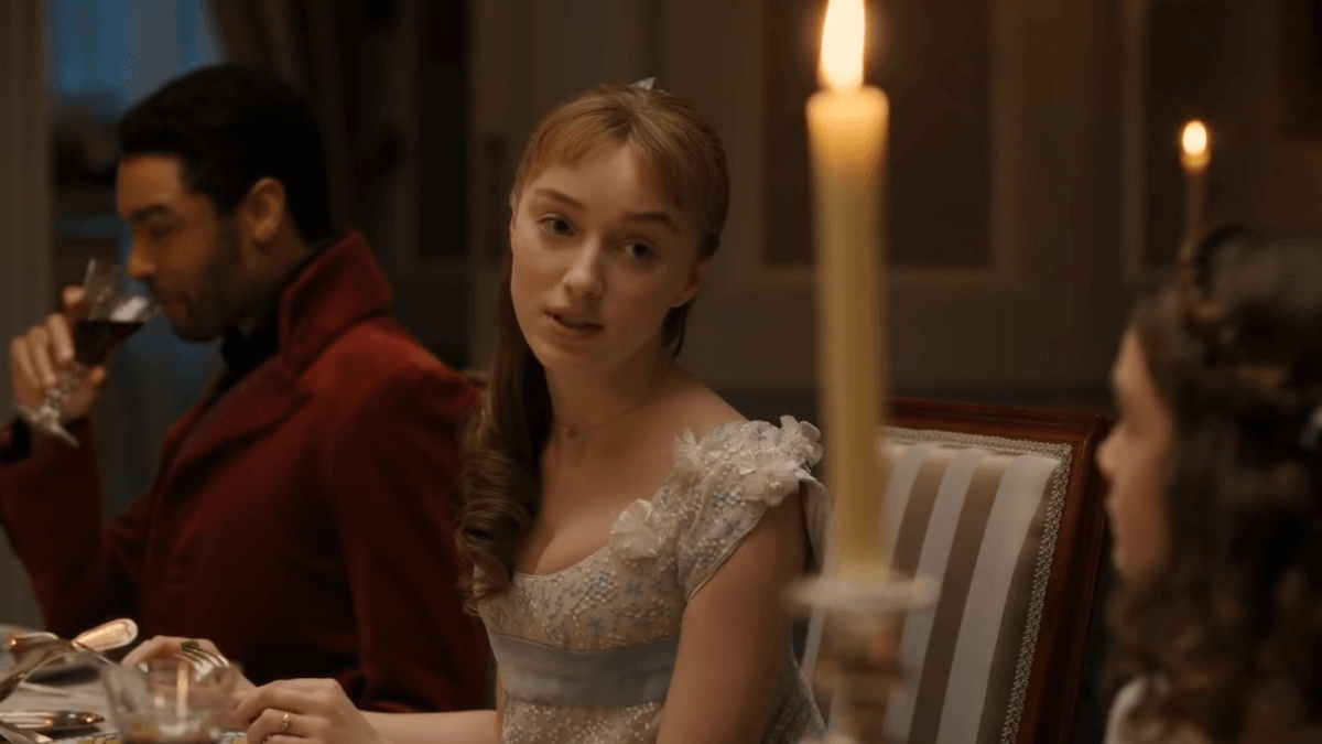 Read more about the article WATCH: Debating Lady Whistledown's Identity in Netflix's 'Bridgerton' Clip