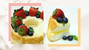 Brownbaggins - Lemon Angel Cake