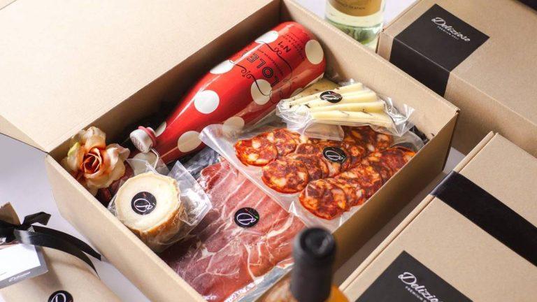 Delizioso Premium Deli Wine and Deli Gift Sets