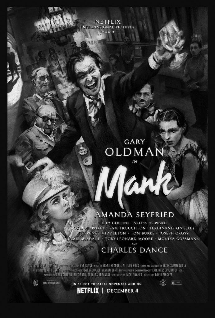 Mank Netflix Film directed by David Fincher