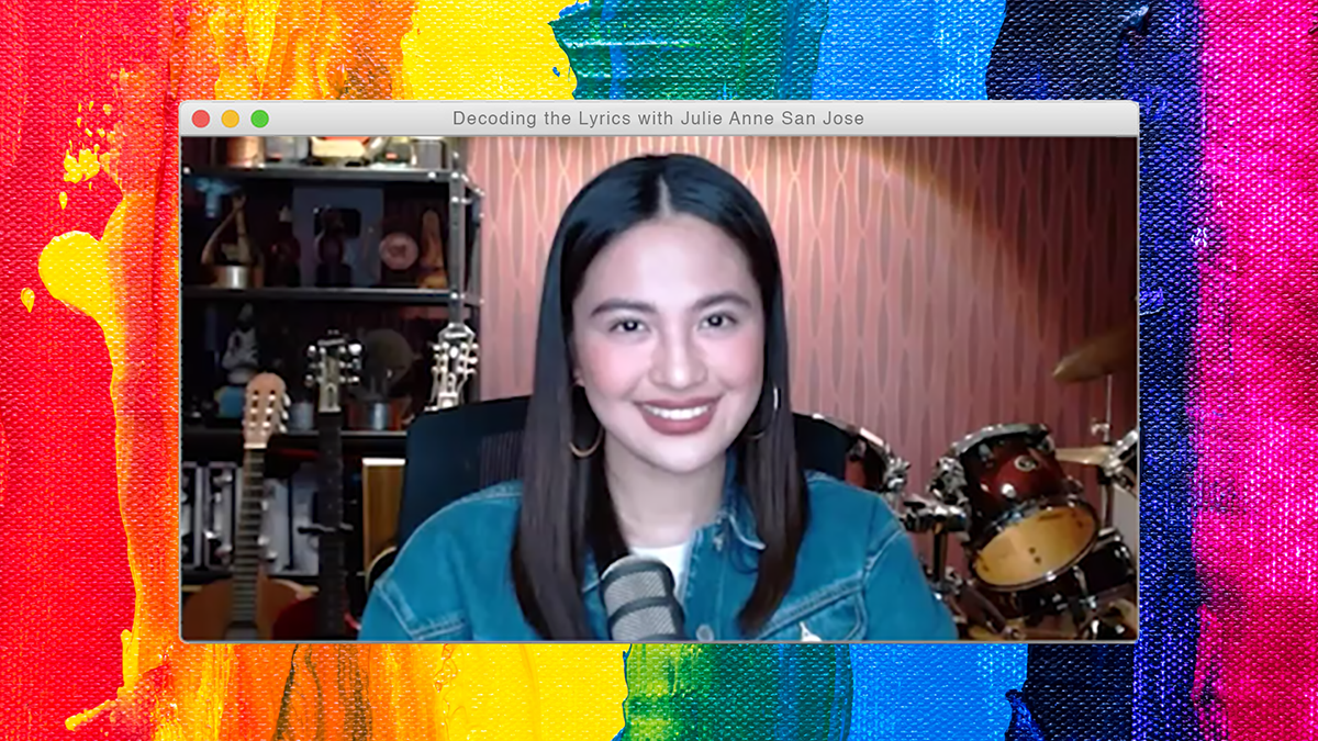Decoding The Lyrics: Julie Anne San Jose on 'Try Love Again' and 'Bahaghari'
