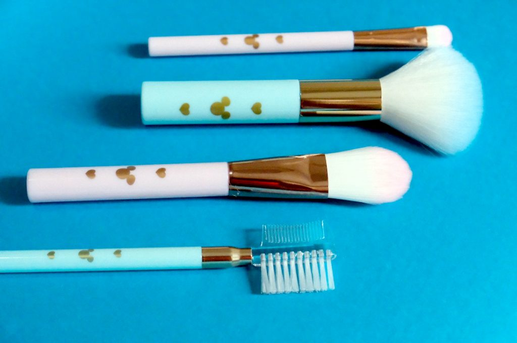 Daiso Japan - Mickey Mouse Makeup Brushes