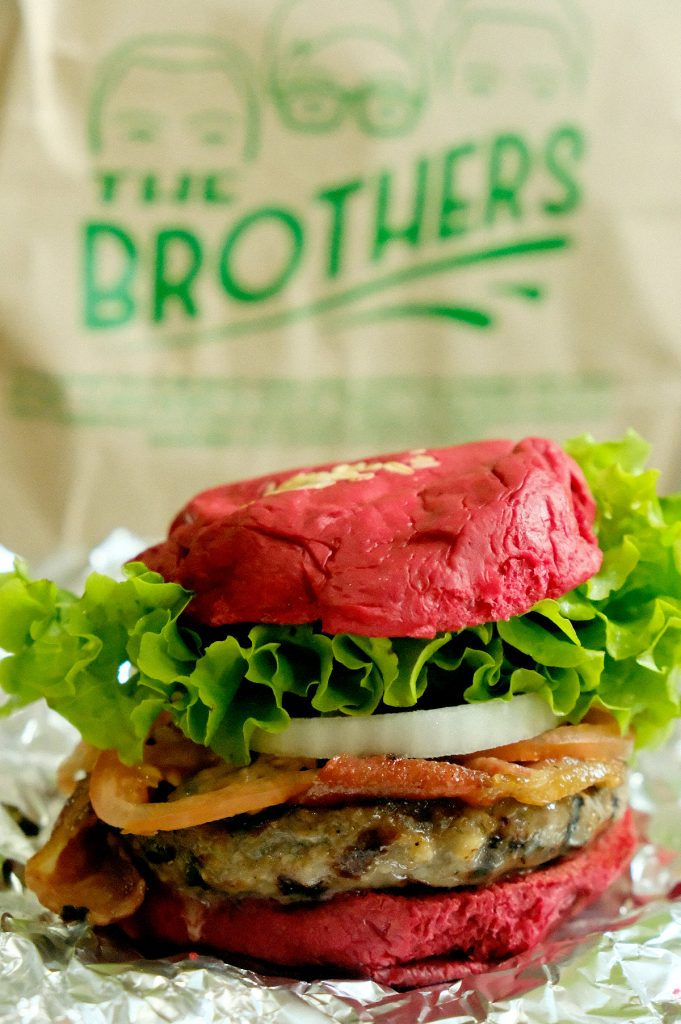 Rudolph's Burger by Brother's Burger