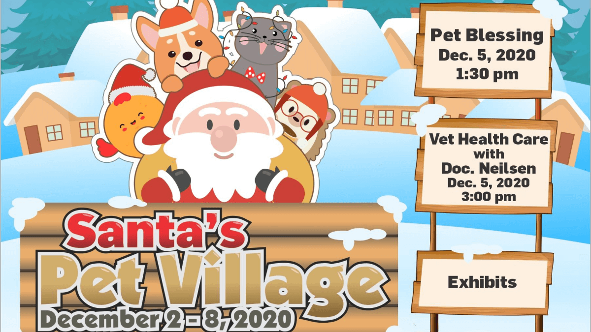 Santa's Pet Village Opens at Robinsons Galleria for Your Furbabies!
