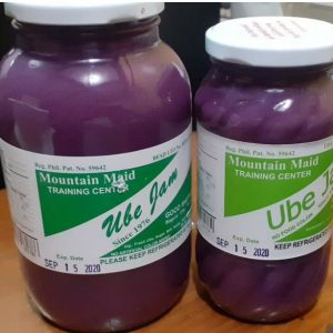 Ube Jam (12oz/small jar) Good Shepherd Baguio