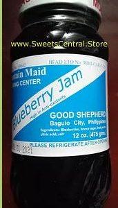 Blueberry Jam (12oz/475g) Good Shepherd
