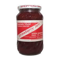 Strawberry Jam (8oz) Good Shepherd