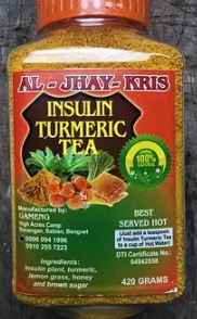 Insulin Turmeric Tea Powder (420g)
