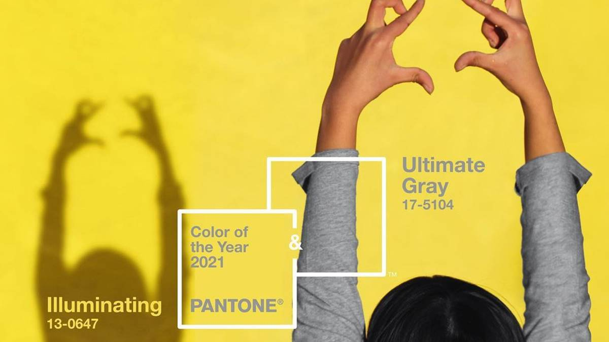 Pantone announces two colors of 2021: Ultimate Gray and Illuminating