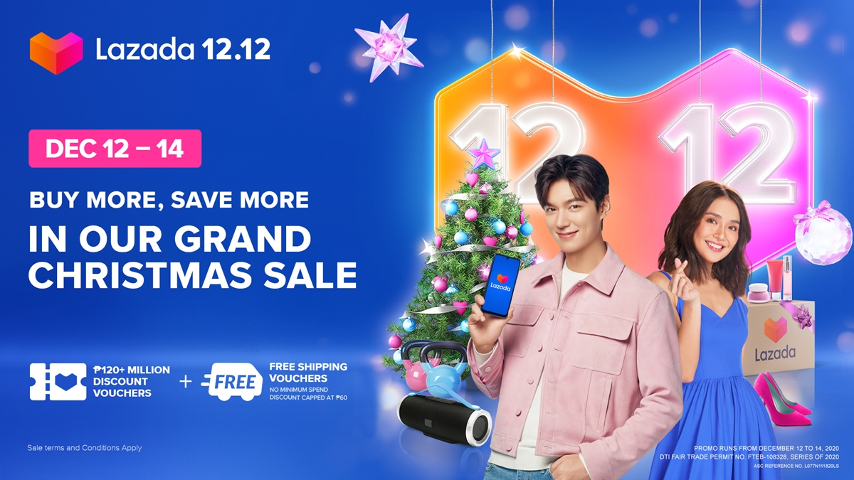 Spread the Holiday Cheer in the Upcoming Lazada's 12.12 Grand Christmas Sale