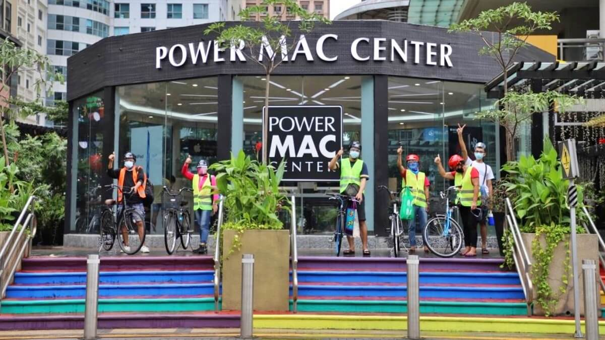 Power Mac Center Partners with Gretchen Ho to 'Pay It Forward' with Free Bicycles