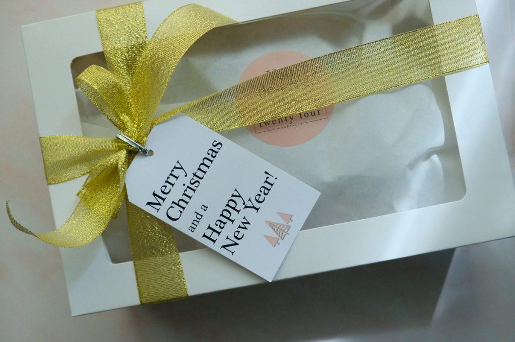 Twenty Four Bakeshop Cookie Gift Boxes