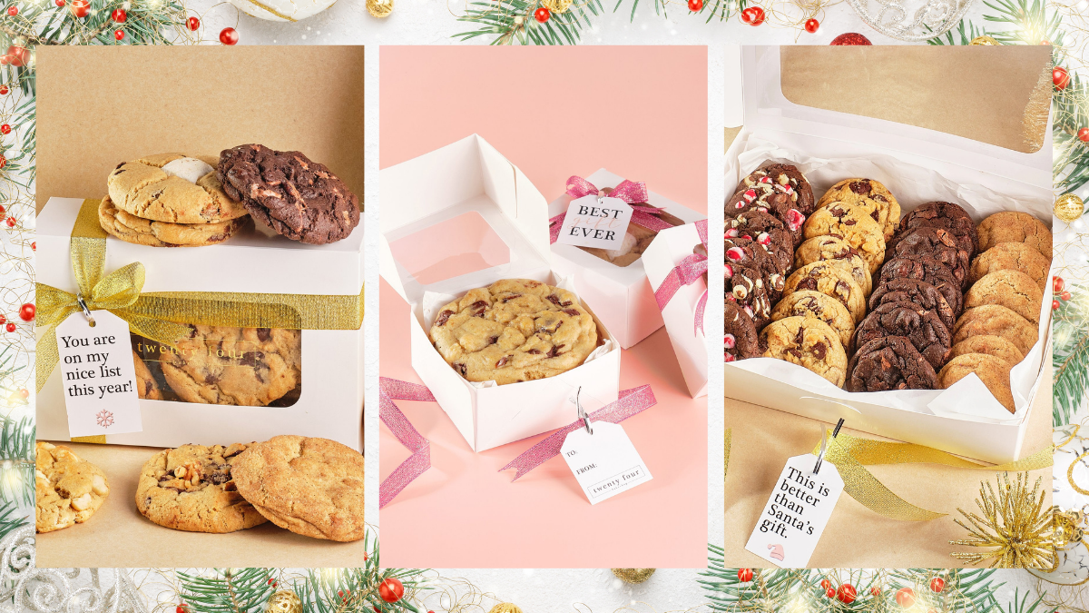 Twenty Four Bakeshop Cookie Gift Boxes Now Available for Delivery