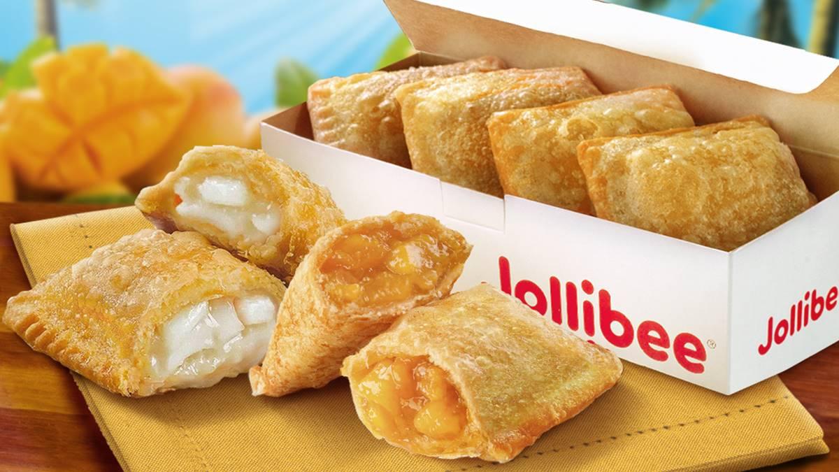 Jollibee's Peach Mango Pie & Buko Pie are now available in 6-pc boxes