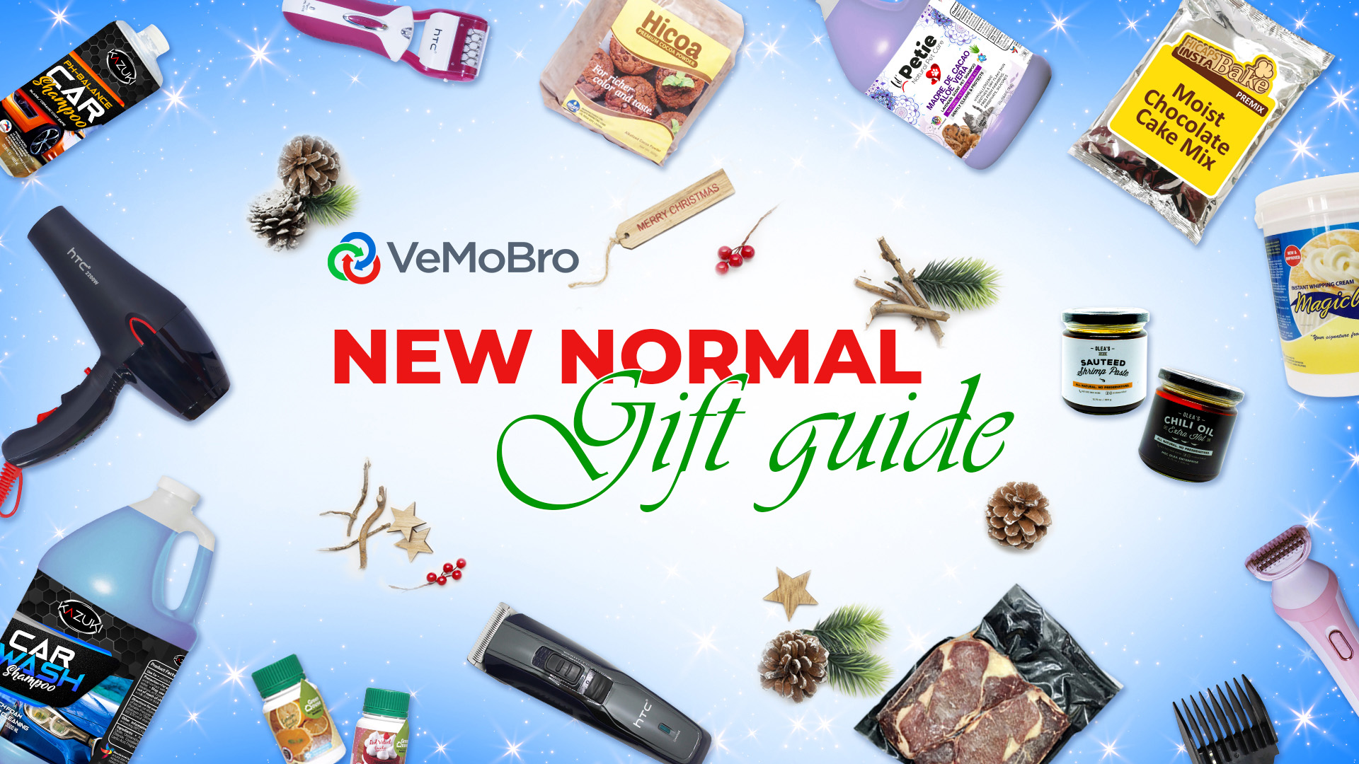 Gift Giving this Christmas is a Go: Here's VeMoBro's Gift Guide for the New Normal