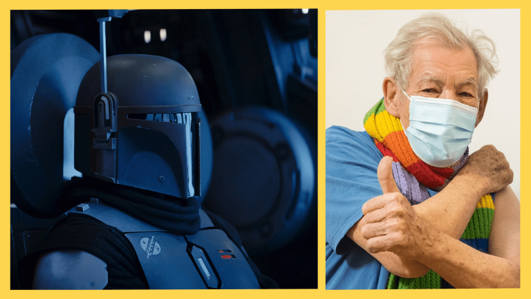 Online News Roundup: The Mandalorian and Sir Ian McKellen