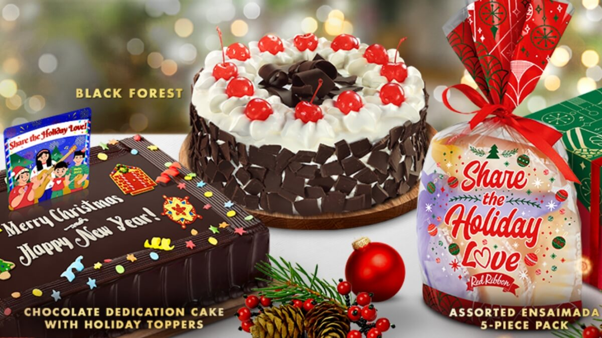 Share the Love, Spread The Cheer with Red Ribbon's Holiday Specials