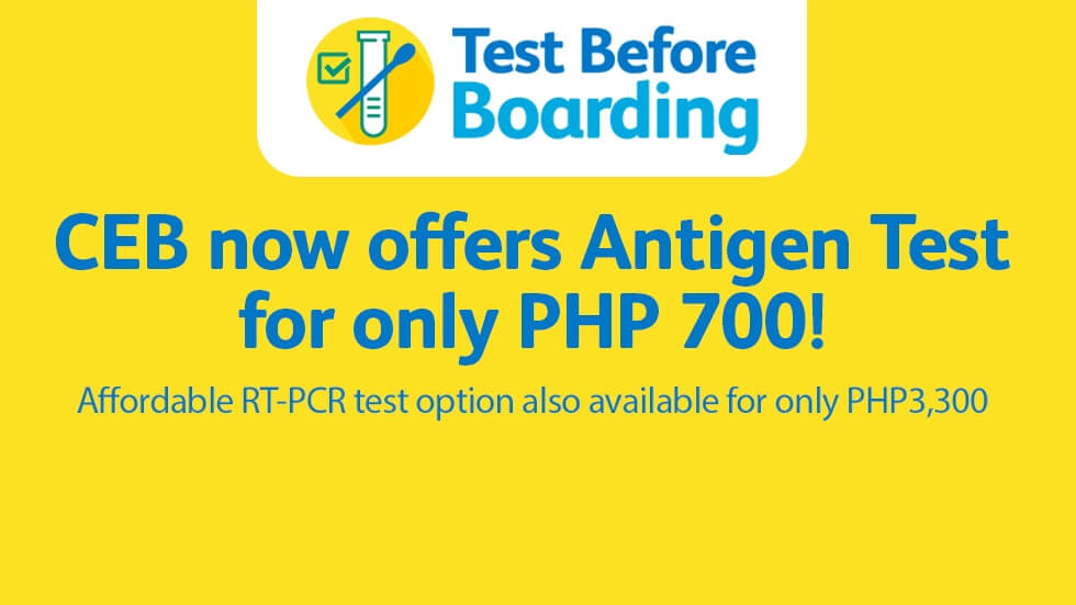 Cebu Pacific Air Offers Affordable Antigen Tests for Travelers