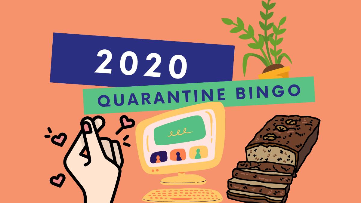 Quarantine Bingo: How Many Activities Kept You Busy in 2020?