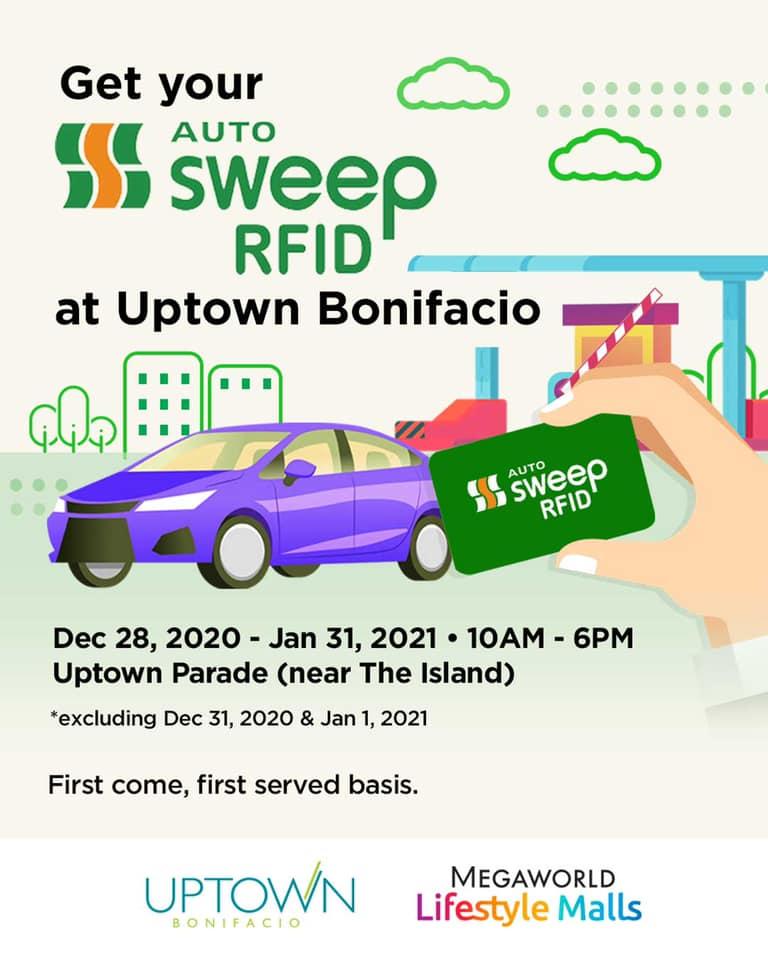 Uptown Bonifacio Autosweep RFID