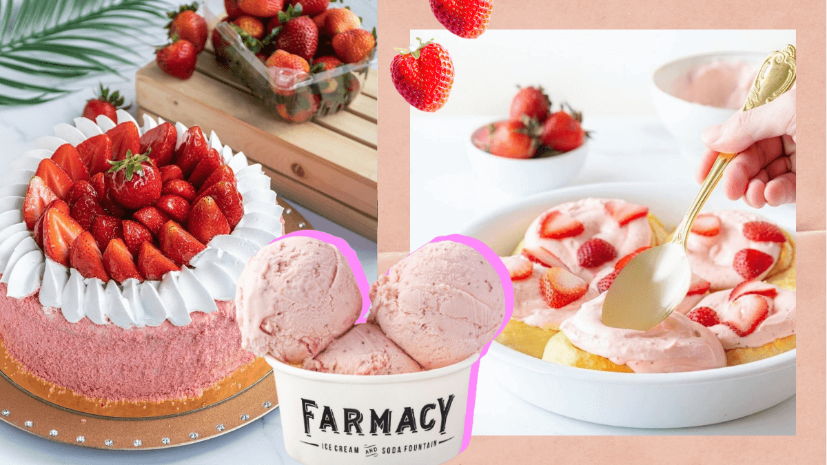 7 Strawberry Treats in Manila That Will Make You Blush with Delight