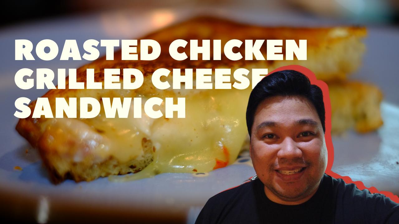 In My Kitchen: Chef Ed Bugia makes Roast Chicken Grilled Cheese Sandwich