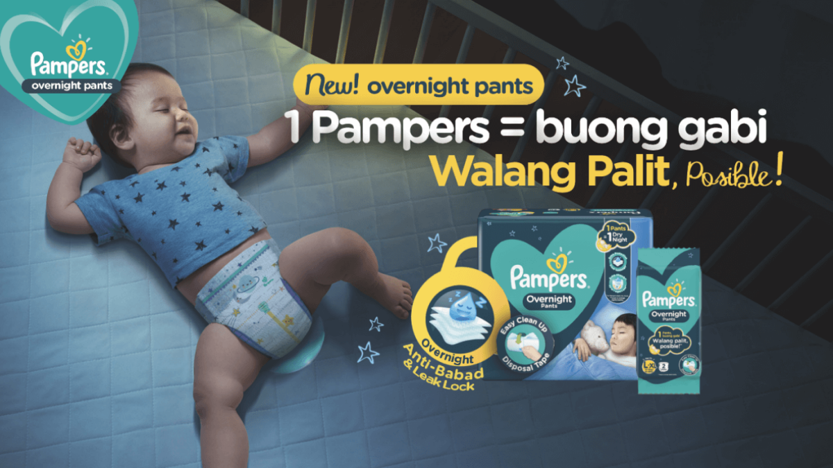 Pampers Introduces New Power Parent Hack: No Changes Overnight!