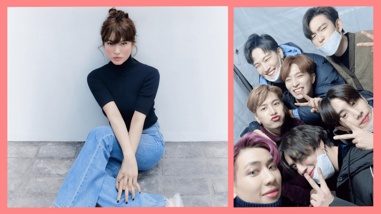 Song Hye Kyo and GOT7