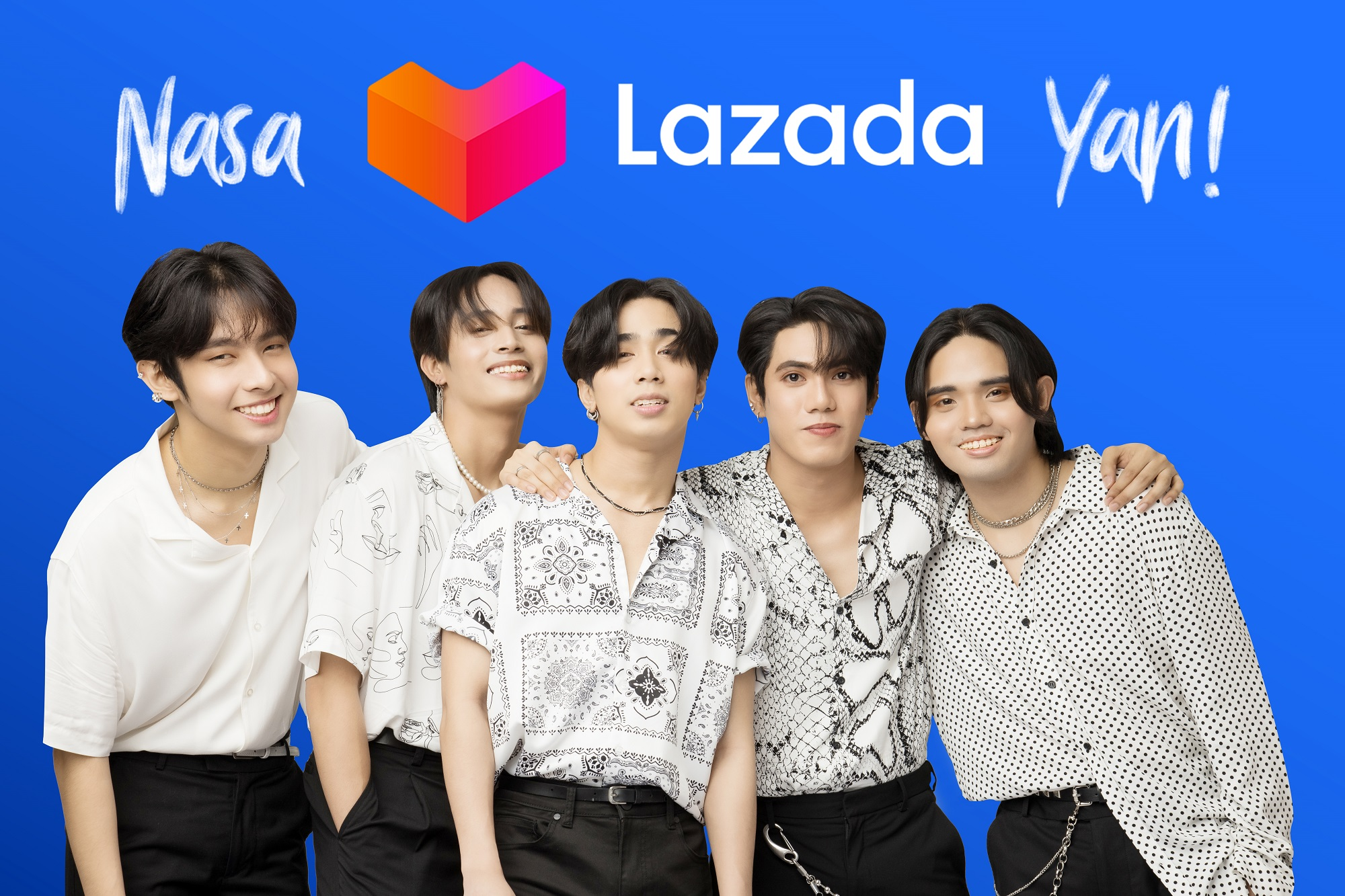 SB19 Joins Lazada Philippines as New Brand Ambassadors of #NasaLazadaYan!