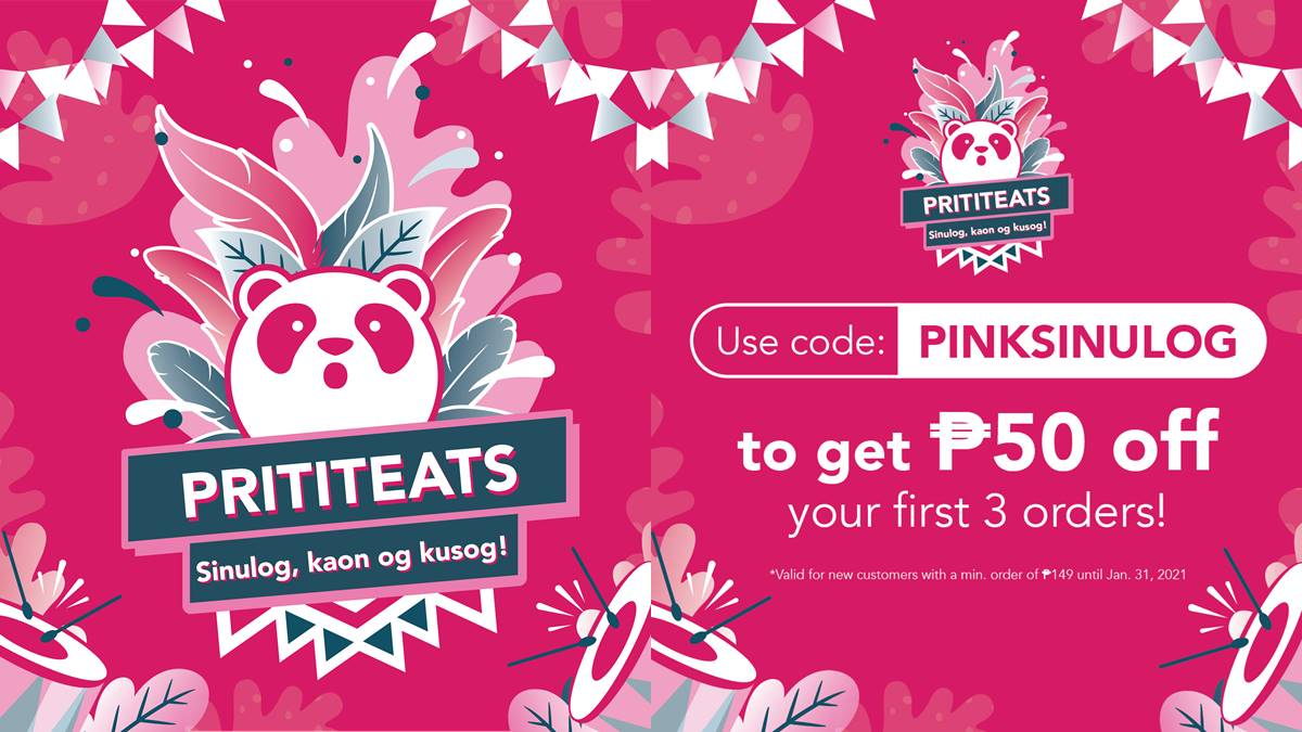 Catch These foodpanda Discounts and Freebies This Sinulog