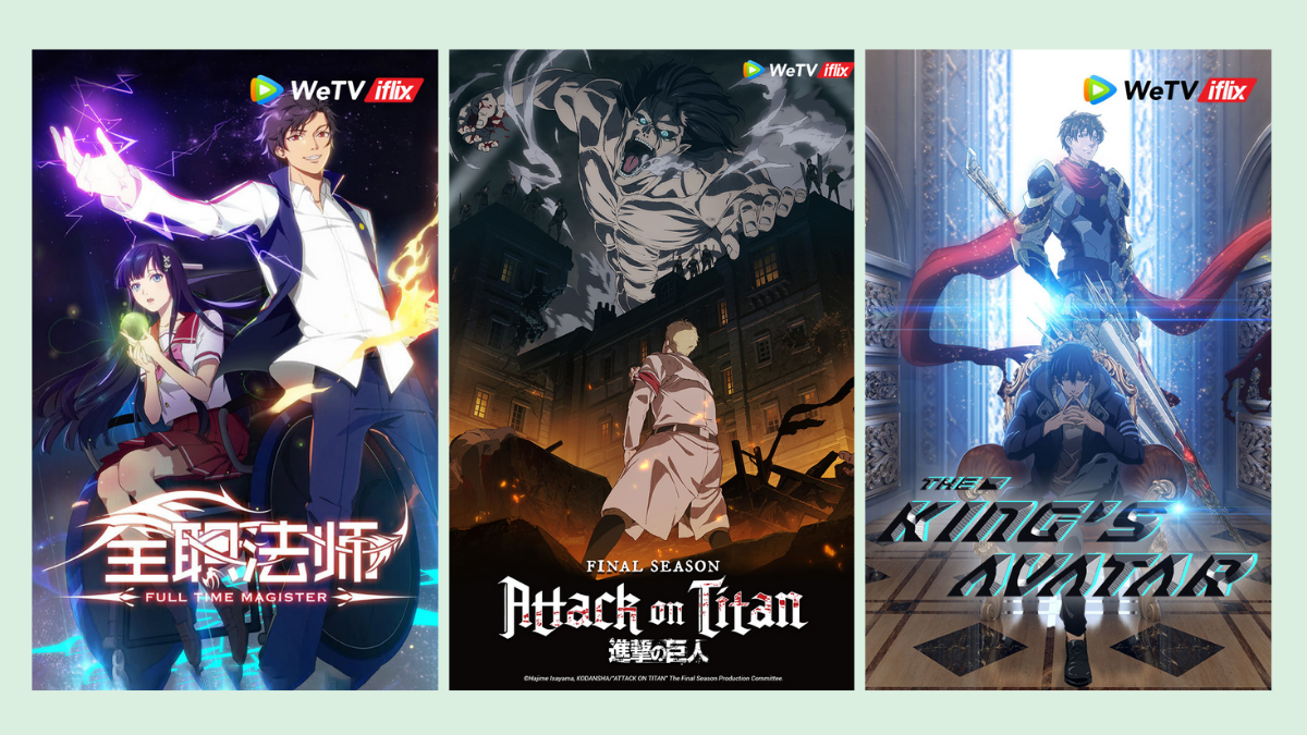 Read more about the article 'Attack on Titan' and Four Other Anime Are Now Streaming on WeTV