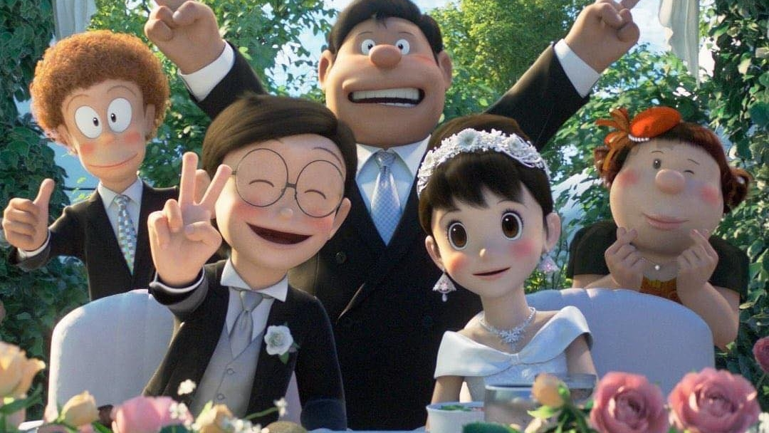 Nobita and Shizuka Get Married in 'Stand By Me Doraemon 2'