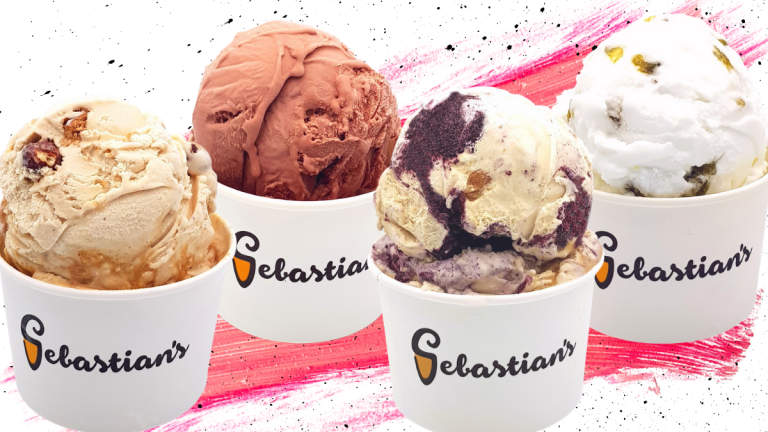 Sebastian's Ice Cream Valentine's Day Flavors 2021
