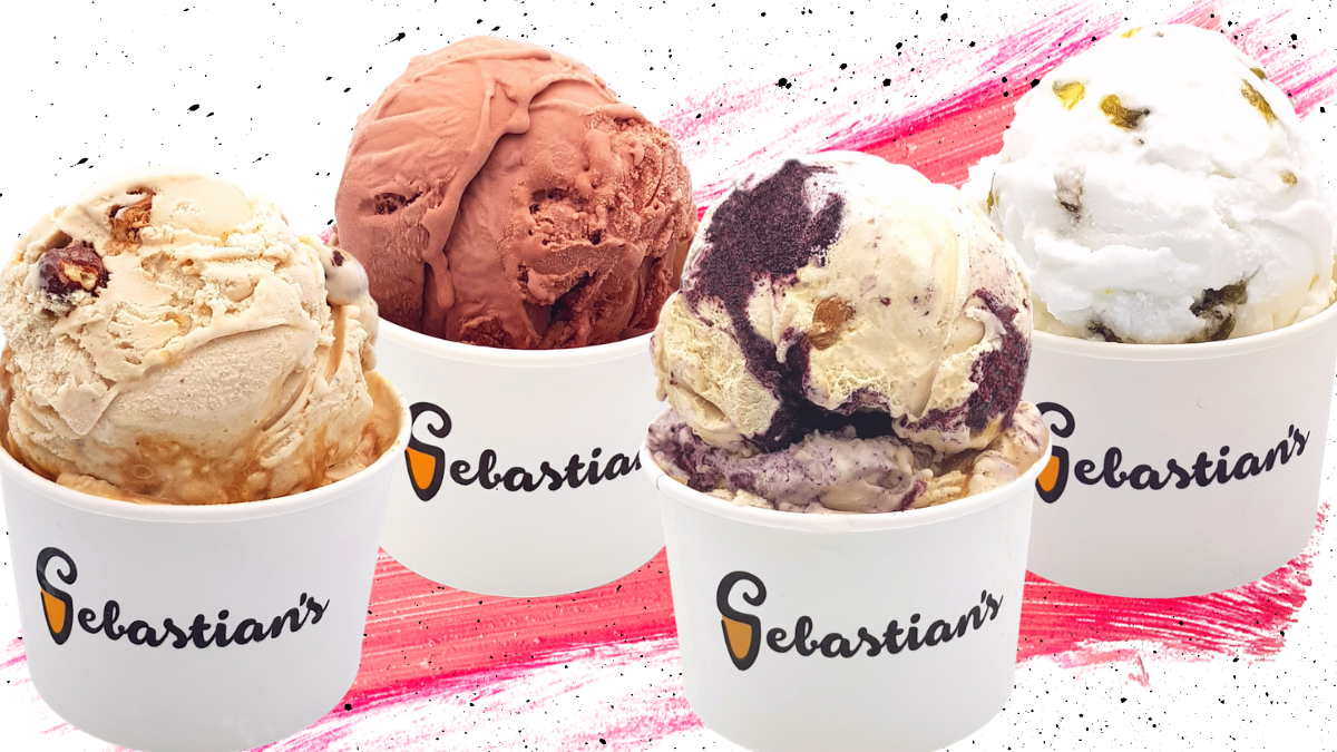 Sebastian's Ice Cream's Valentine's Day 2021 Flavors Are Here