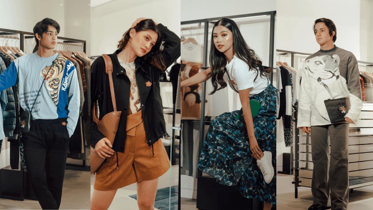 Four Fashionistas Showcased Their 'New Normal' Style Through KENZO