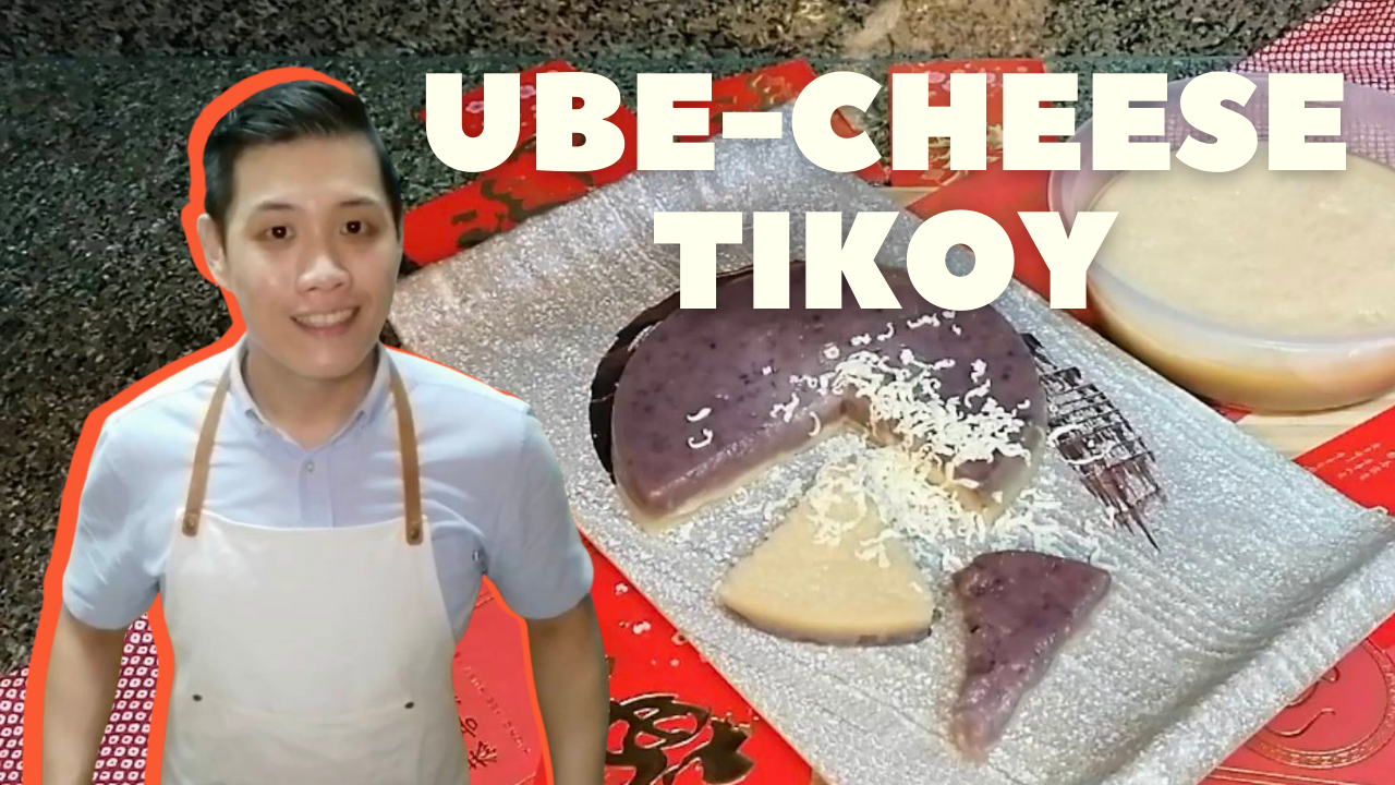 In My Kitchen: Chef Nathaniel Uy makes Ube-Cheese Tikoy
