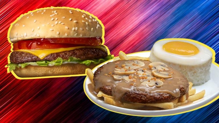 Jollibee - Champ and Ultimate Burger Steak