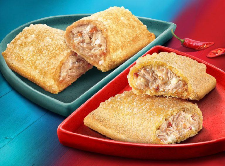 Jollibee Tuna Pie and Spicy Tuna Pie