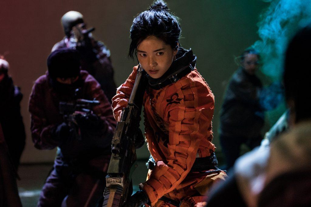 Kim Tae Ri as Captain Jang in Space Sweepers