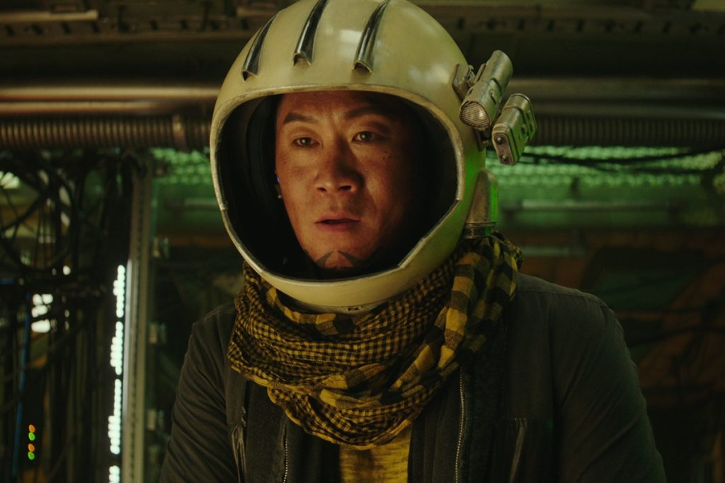 Jin Sun Kyu as Tiger Park in Space Sweepers