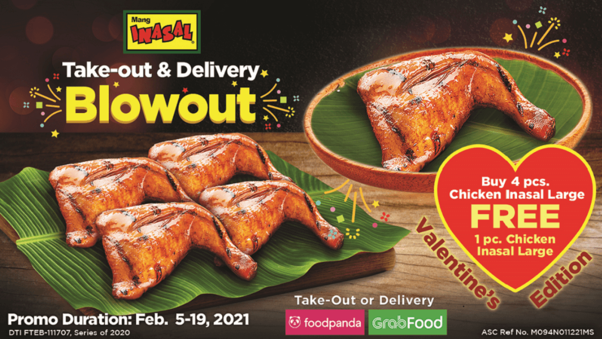Read more about the article Share The Love This Season with Mang Inasal's Take-out and Delivery Blowout Valentine Edition!