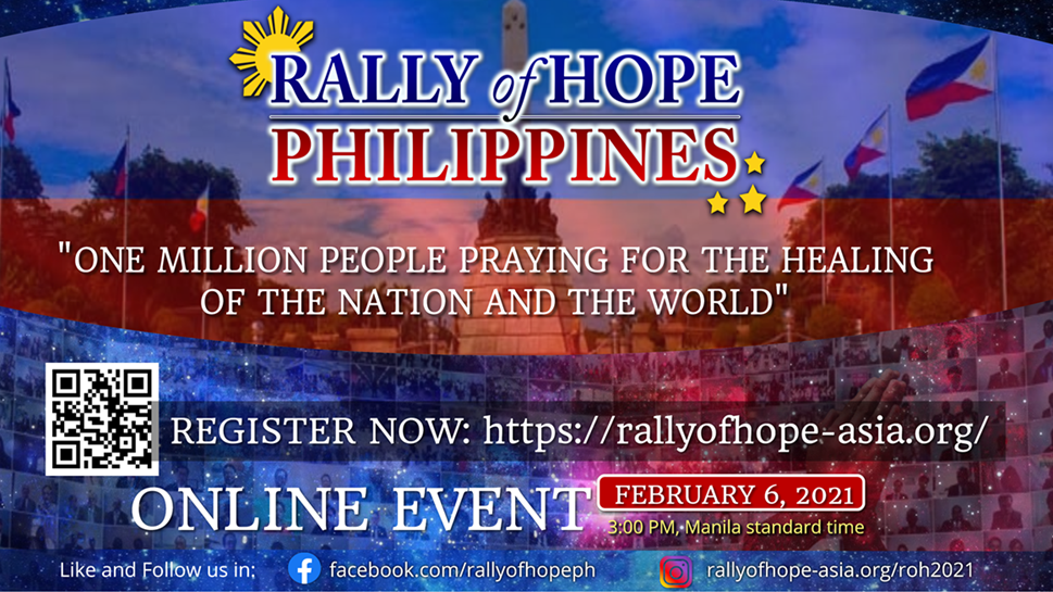 Read more about the article Rally of Hope Gathers Citizens To Pray for the Healing of the World from the Pandemic