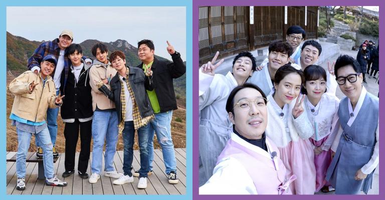 Korean Variety Shows: Running Man and 2D1N