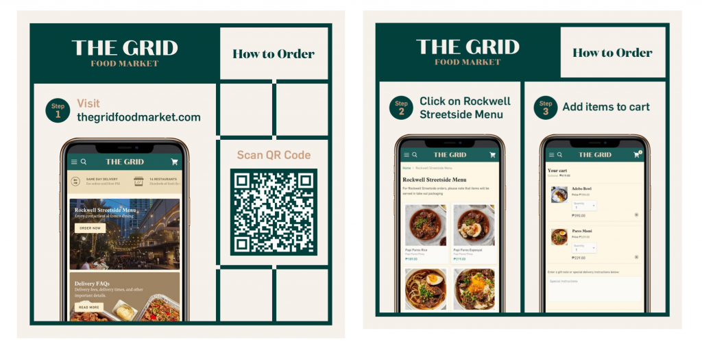The Grid and Off-Grid Outdoor Dining at Rockwell Makati